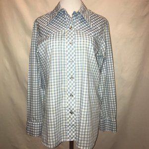 Vintage Wrangler long sleeve shirt w/ snaps